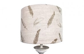 Plumage lamp shade