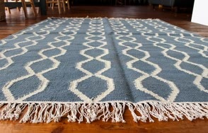 Rope Rug (Blue/Winter White)