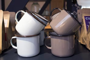 Enamel Half Mug