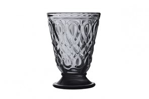 La Rochére patterned tumbler - Grey