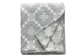 St Davids Cross Blanket Silver