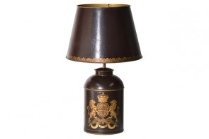 Burg Tea Can Table Lamp
