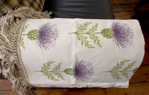 Nessy Damson Throw