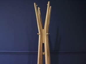 Totem coat and hat stand
