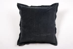 Velvet Cushion in Blue