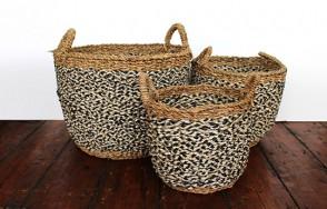 Village basket black