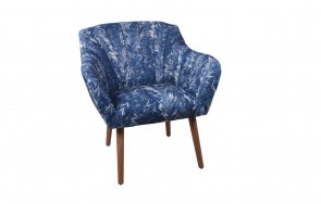 Malay Lounge Chair Blue