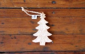 Carved Tree Decoration