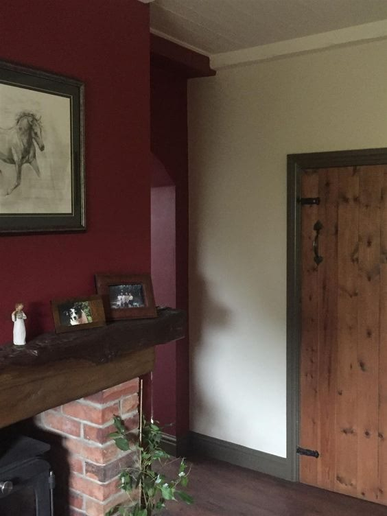 eating room red, farrow and ball, farrow and ball inspriation