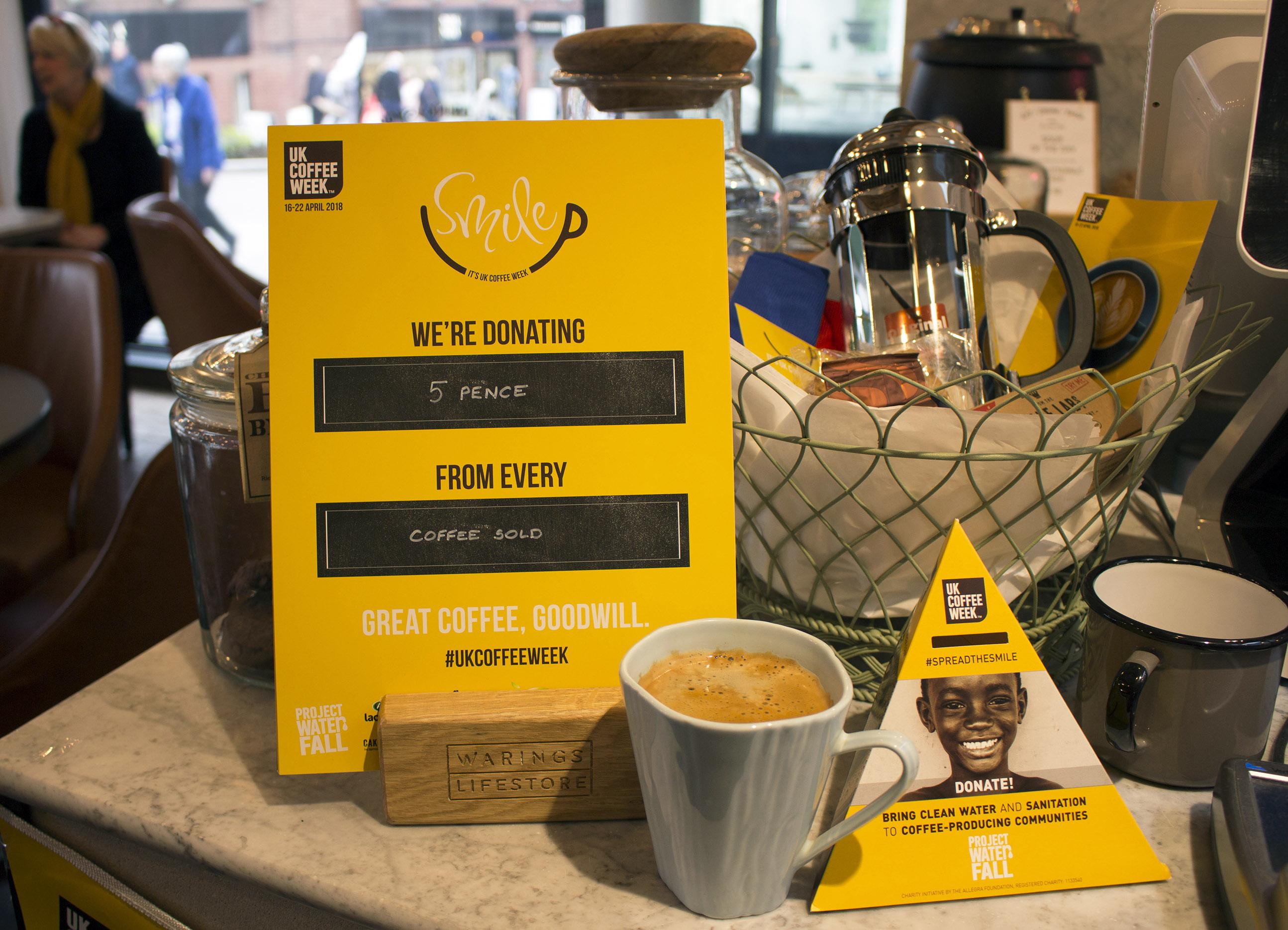 uk coffee week, warings cafe, norwich