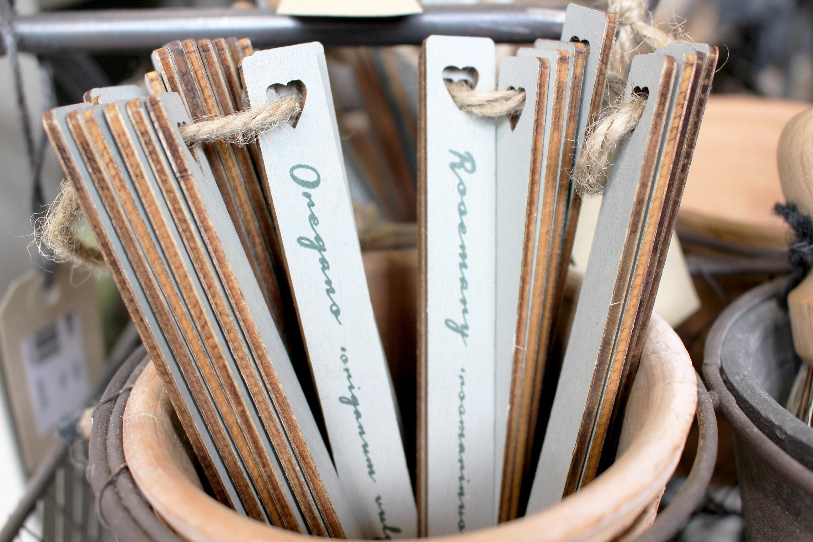 herb marker sticks