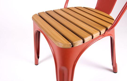 phobos slatted chair