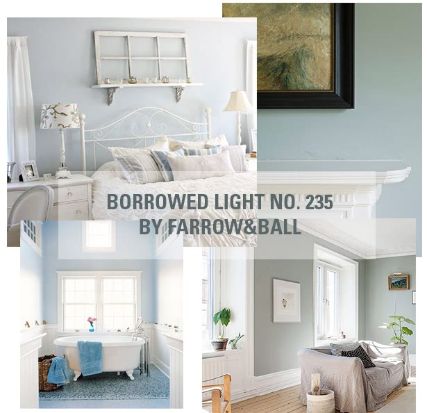 farrow&ball, farrow and ball, paint, decorating, paint brush, borrowed light