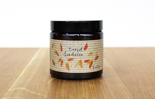 Carrot hand cream