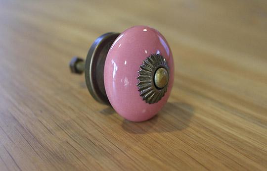 coral door knob