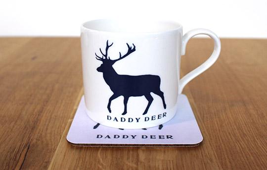 Daddy deer mug