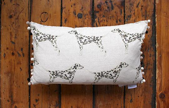 Dalmation cushion