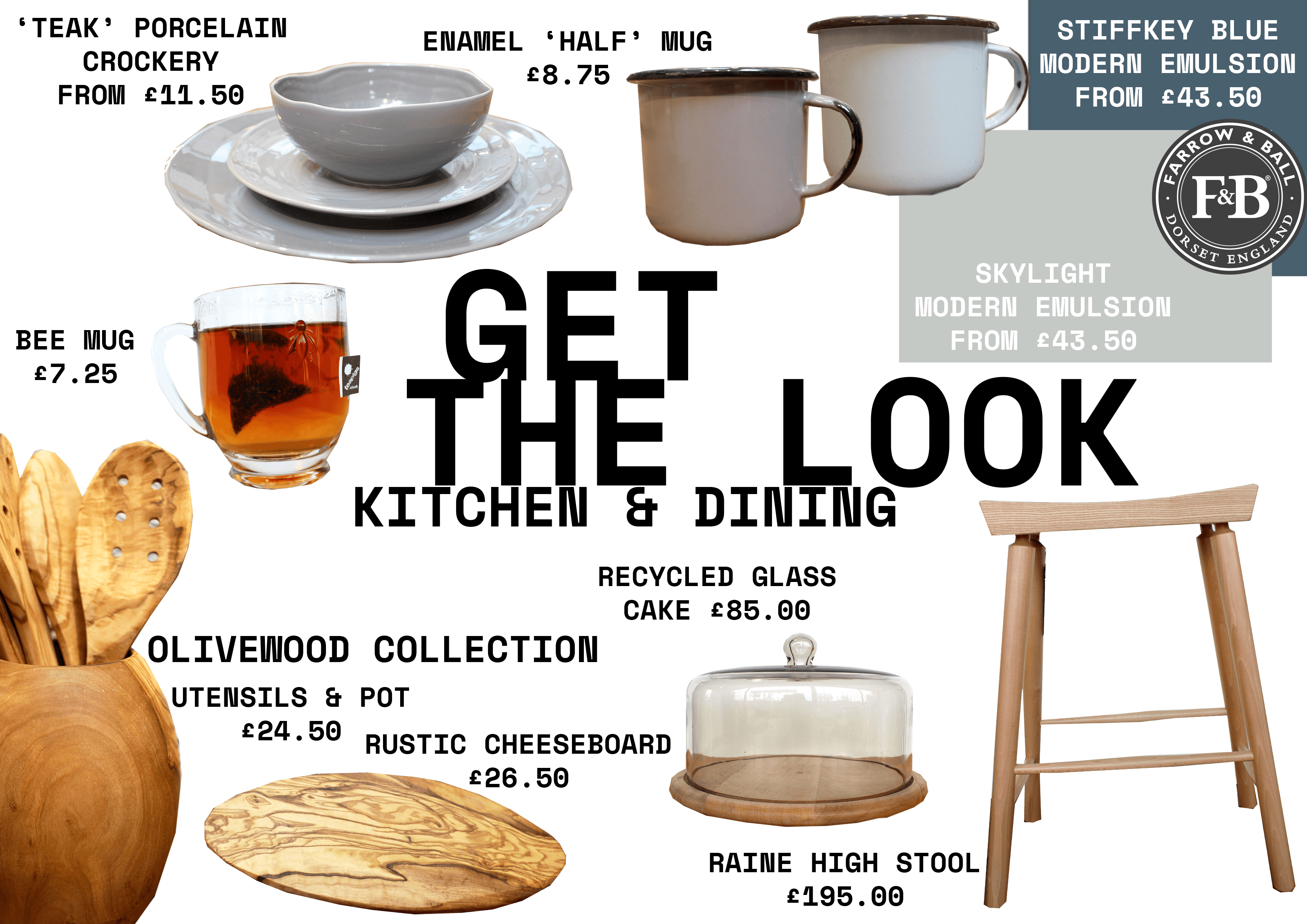 Get the Look: kitchen and dining inspiration