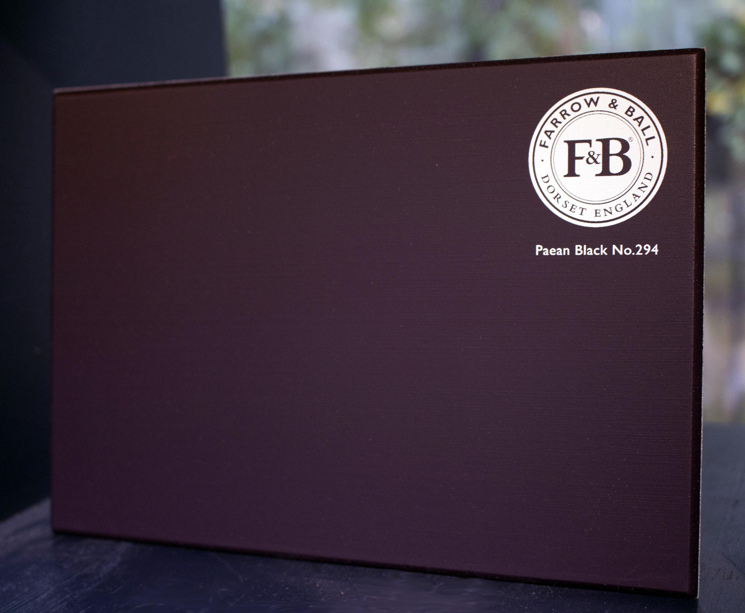 New Farrow&Ball, Paean Black