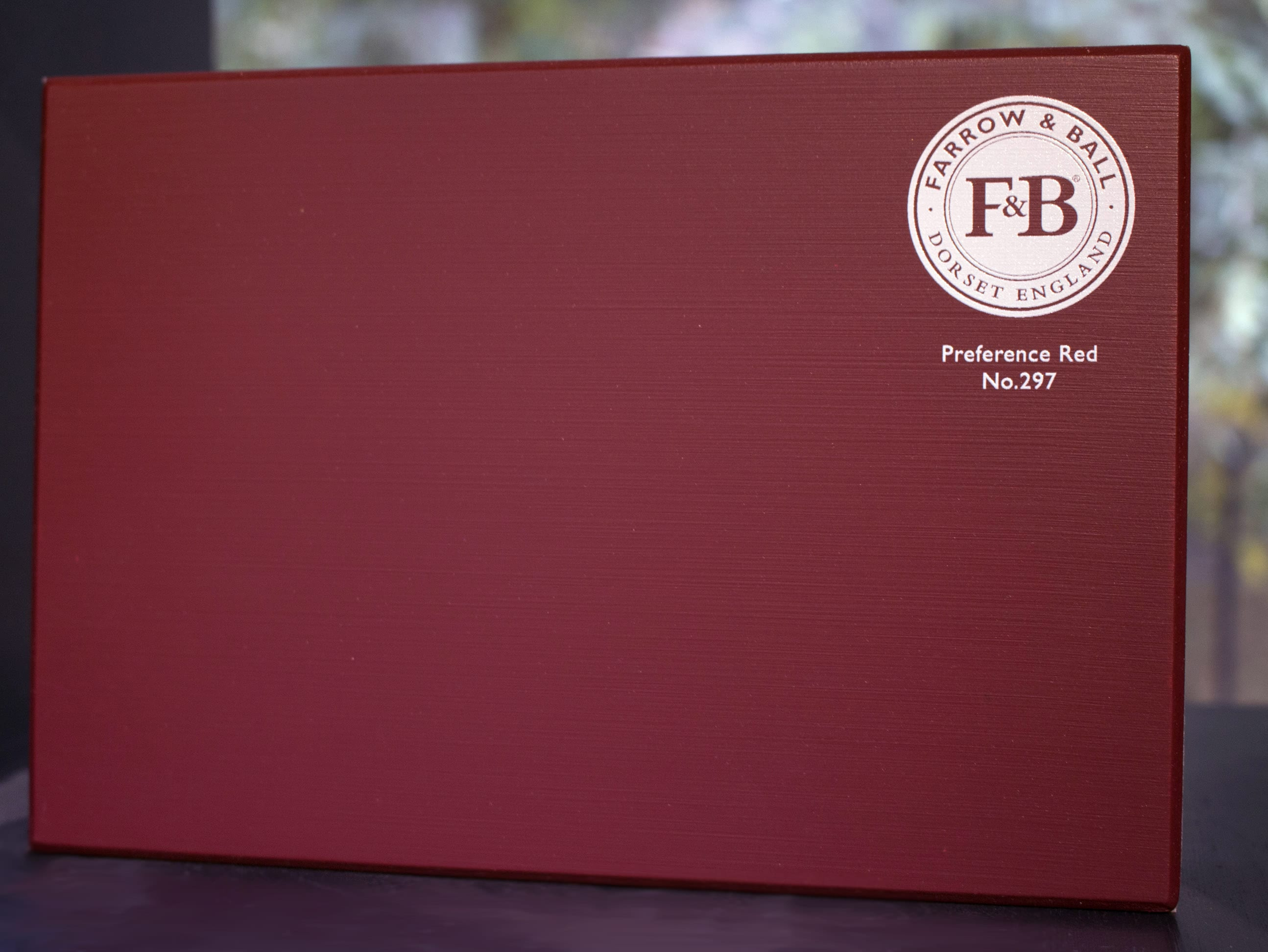 farrow&ball, farrow and ball, paint, decorating, paint brush, preference red