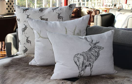 stag cushions