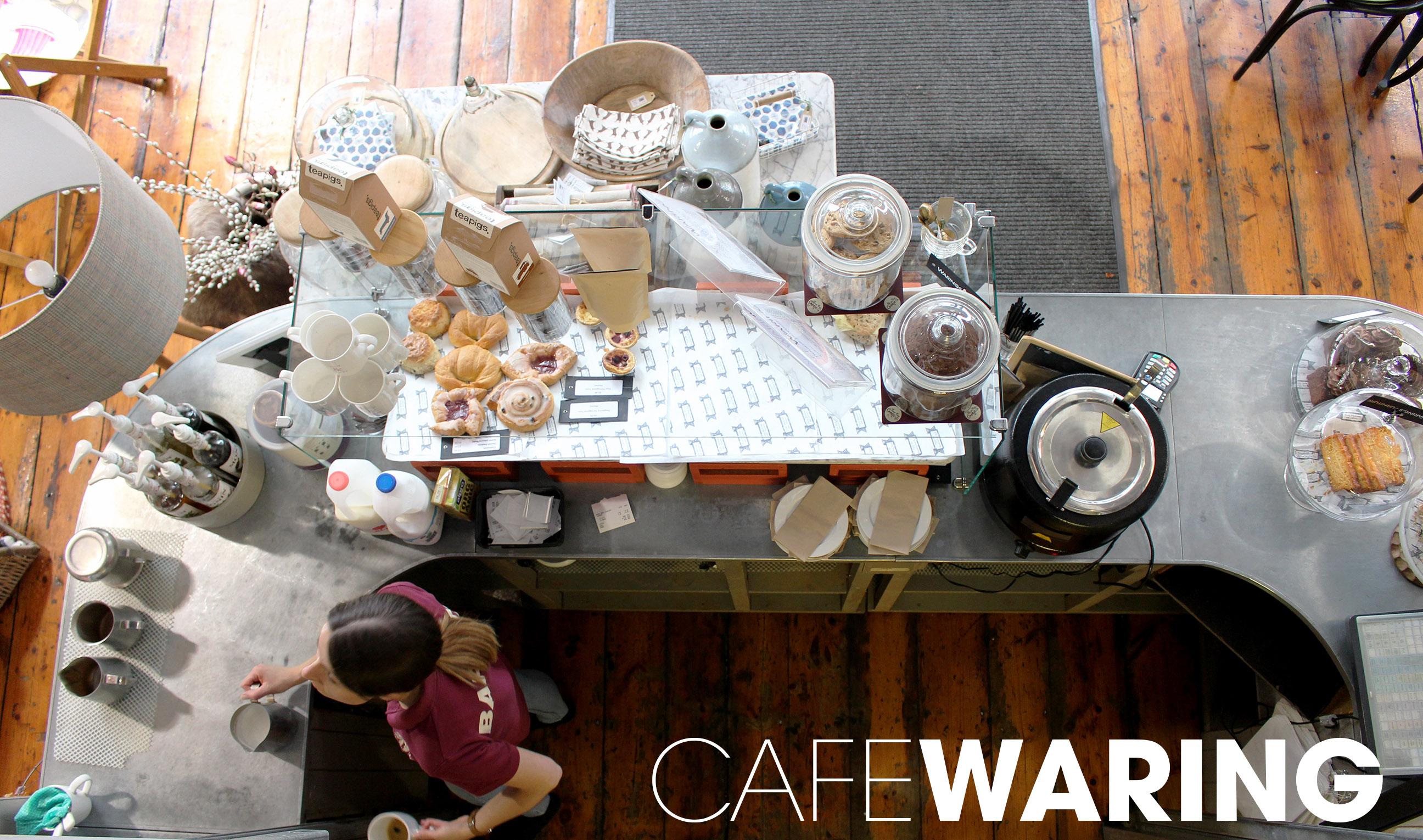 cafe waring