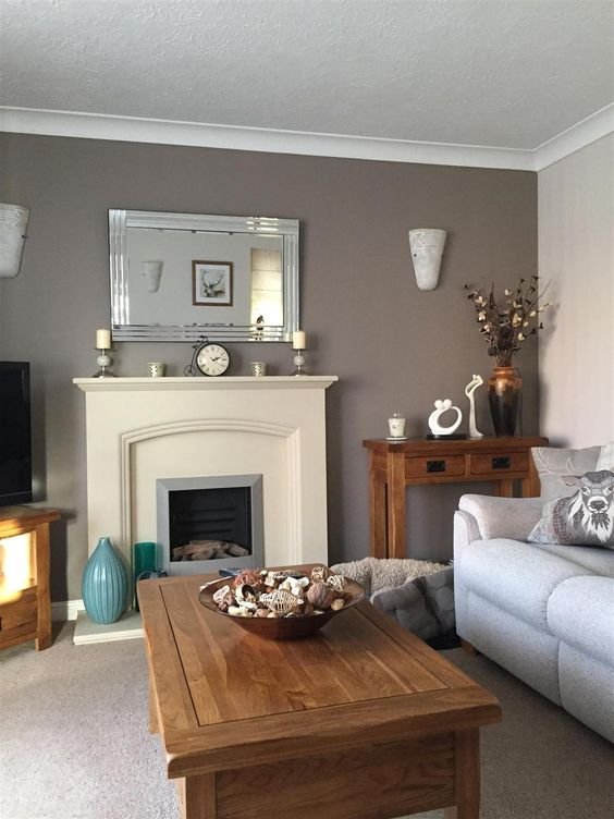 Trout Gray Painted Rooms