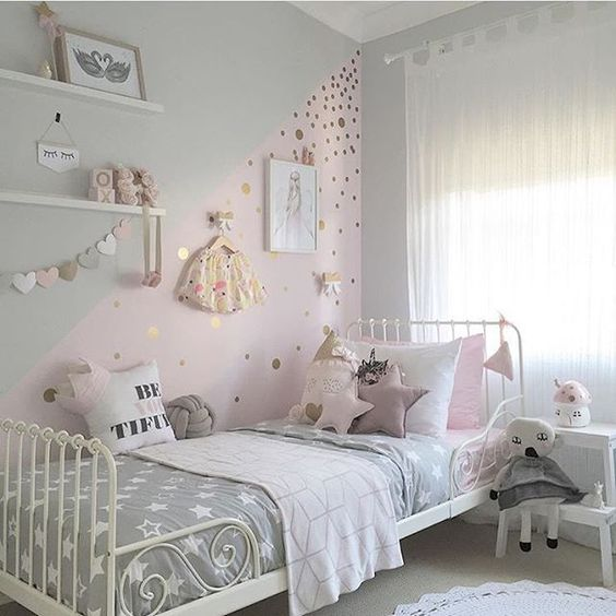 Inspiration Kinderzimmer | News Farrow Ball Grey Inspiration Combined With Pink Warings Store
