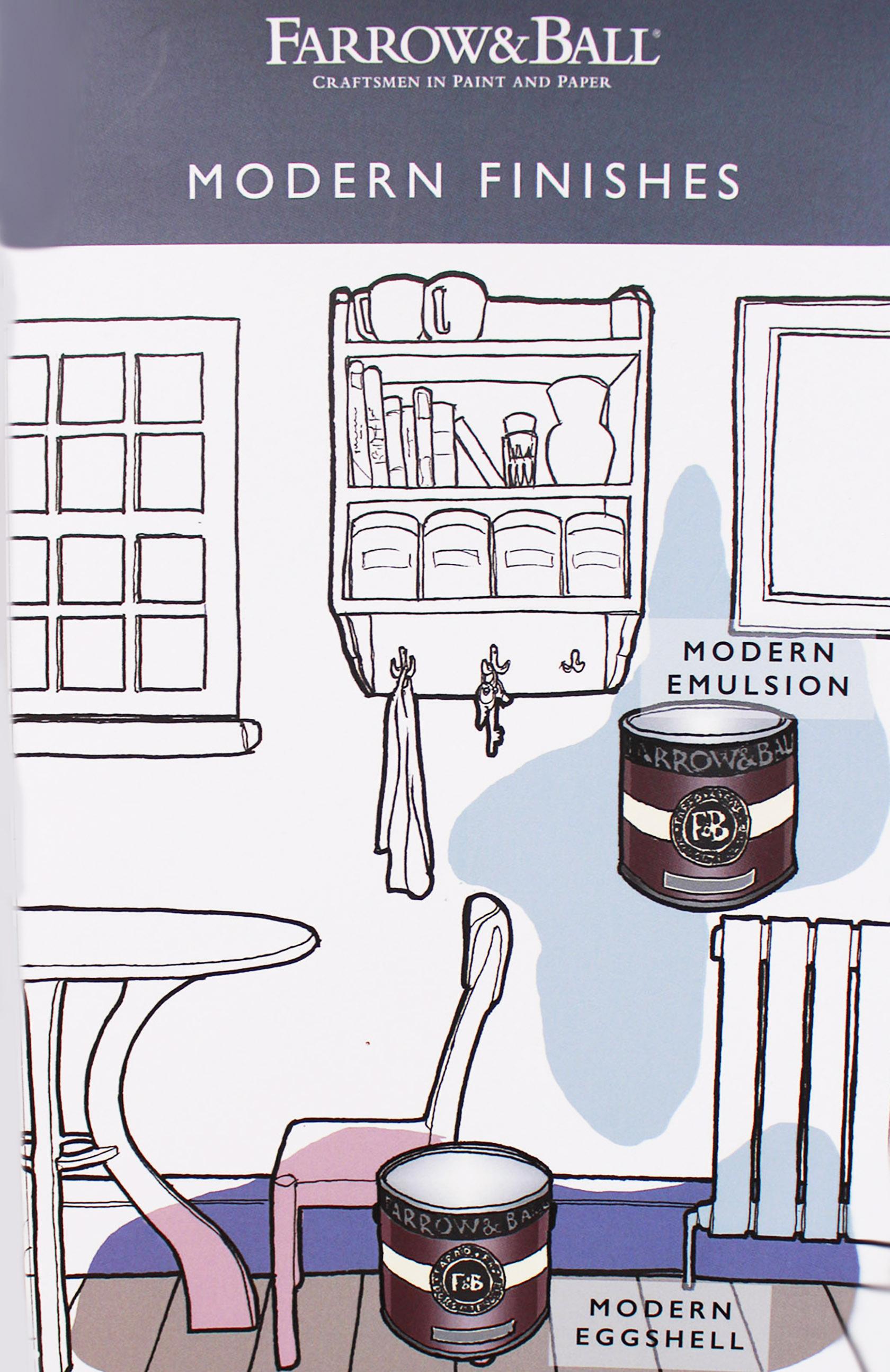 modern emulsion & modern eggshell