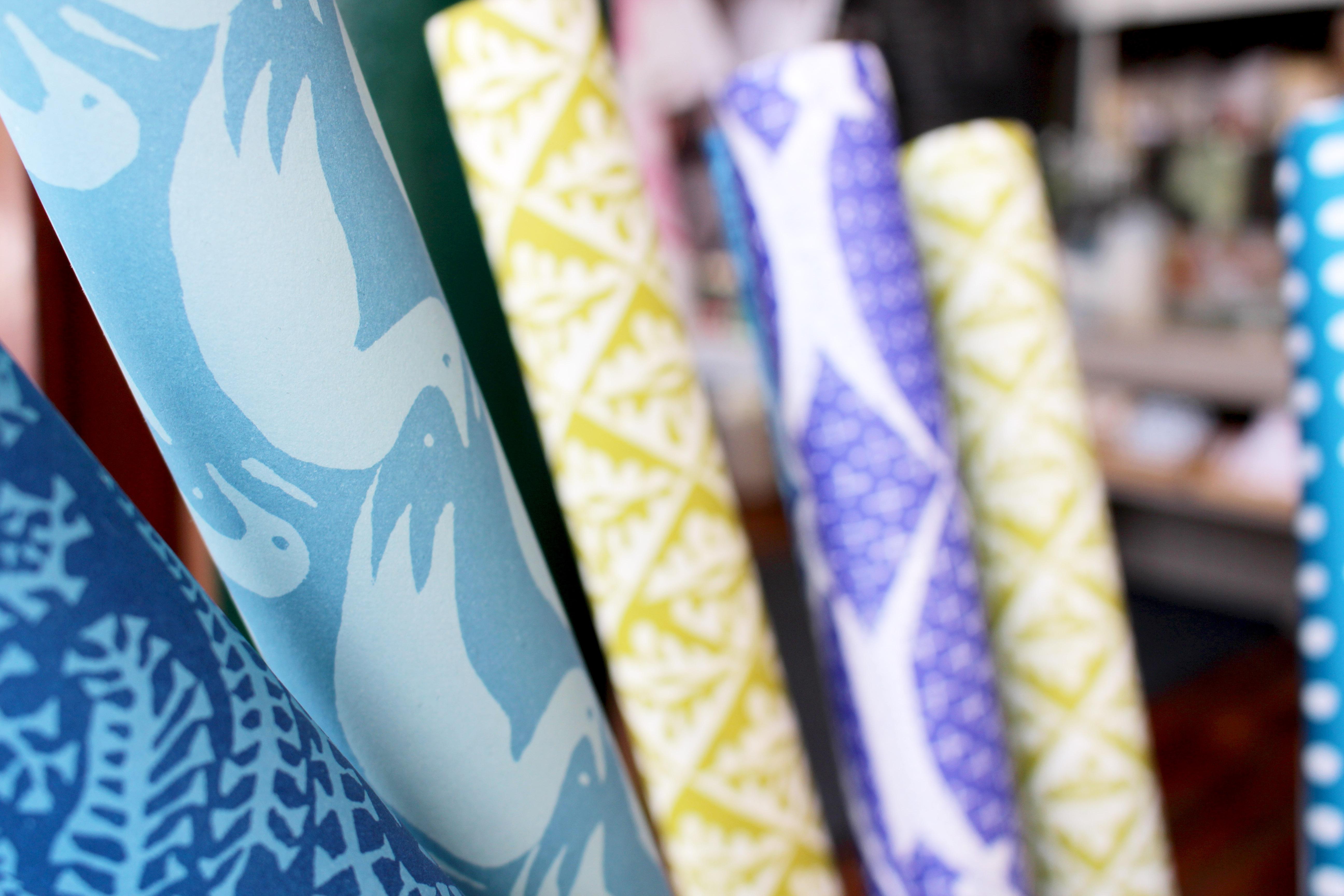 cambridge imprint company wrapping paper