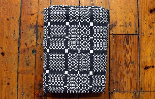 fairisle knit blanket