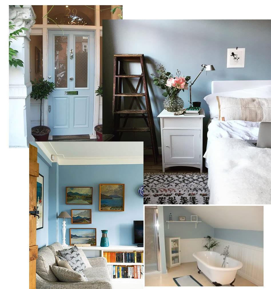 farrow&ball, farrow and ball, paint, decorating, paint brush, parma gray